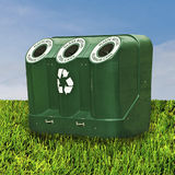 Recycle Field Royalty Free Stock Photography