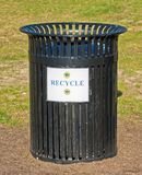 Recycle Garbage Can Stock Image