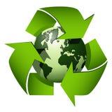 Recycle globe Stock Photos