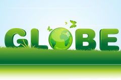 Recycle globe Royalty Free Stock Photography