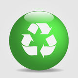 Recycle Globe Royalty Free Stock Photo