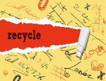 Recycle graphic Stock Image
