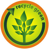 Recycle green Stock Image