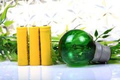 Recycle green energy Stock Image