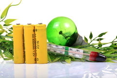 Recycle green energy Stock Images
