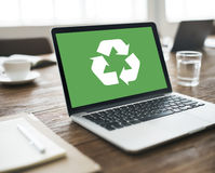 Recycle Green Environment Conservation Eco Concept Royalty Free Stock Photos
