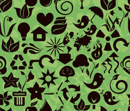 Recycle green pattern in vector Stock Photos