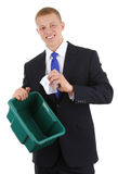 Recycle guy Stock Image