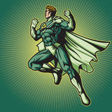 Recycle Hero 2 (with A Cape) Stock Photography