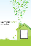 Recycle home Royalty Free Stock Image