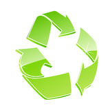 Recycle icon Stock Images