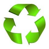 Recycle icon. Illustration on white background Royalty Free Stock Photos