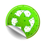 Recycle icon. Illustration on white background Stock Images