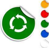 Recycle  icon. Royalty Free Stock Photography