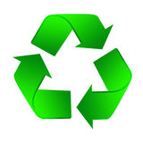 Recycle icon Royalty Free Stock Images