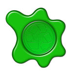 Recycle icon Royalty Free Stock Photography