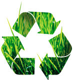 Recycle icon. Illustration on white background Stock Image