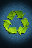 Recycle Icon Background Stock Photo