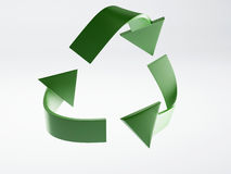 Recycle icon 3d Royalty Free Stock Image
