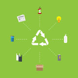 Recycle icon Stock Photography