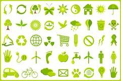 Recycle Icon Set Stock Image