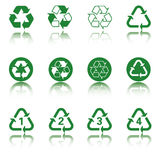 Recycle Icon Set vector illustration