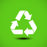 Recycle icon. Vector illustration. eps 10 Stock Photo