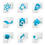 Recycle icons Royalty Free Stock Image