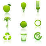 Recycle icons Stock Photography