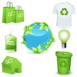 Recycle icons Stock Photos