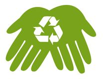 Recycle icons Royalty Free Stock Photo