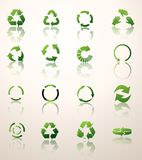 Recycle icons vector Royalty Free Stock Image