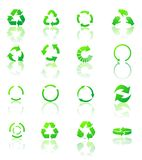 Recycle icons vector Royalty Free Stock Photo
