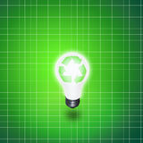 Recycle Idea Bulb Royalty Free Stock Photo