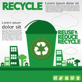 Recycle. vector illustration