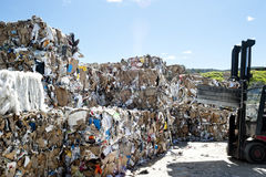 Recycle industry Royalty Free Stock Photography