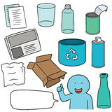 Recycle item Stock Photography