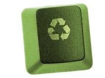 Recycle key Royalty Free Stock Photos