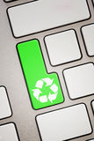 Recycle key Stock Images