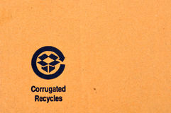 Recycle label Royalty Free Stock Photography