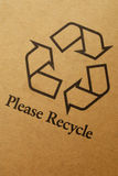 Recycle label Royalty Free Stock Images