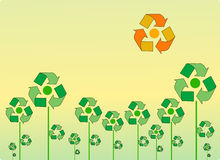 Recycle Landscape Royalty Free Stock Photo