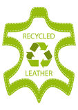 Recycle Leather Royalty Free Stock Images