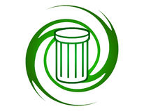 Recycle logo Stock Image