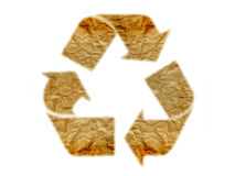 recycle logo Royalty Free Stock Photo