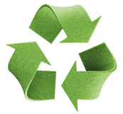 Recycle logo. Recycle environmental isolated logo concept Stock Photography