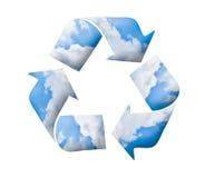 Recycle logo, green concept Royalty Free Stock Photos