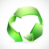 Recycle Logo green Royalty Free Stock Photography