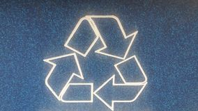 Recycle logo Royalty Free Stock Photography