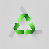 Recycle logo Royalty Free Stock Image